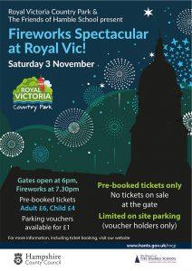 The Hamble School Fireworks Display at Royal Victoria Country Park - Saturday 3rd November 2018 @ The Royal Victoria Country Park | Netley | England | United Kingdom